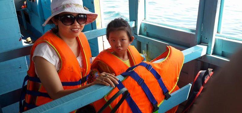 Du lịch Đảo Bình Ba - Nha Trang 2014